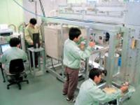 木質バイオマスの化実験装置